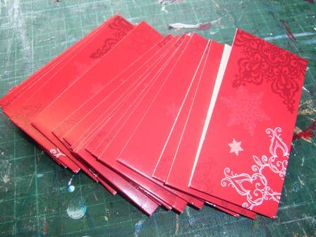Cards cut