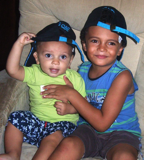 Kids hats issac bday