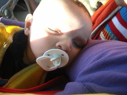 Isaac_asleep_in_boat