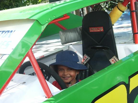 Leroy_in_race_car